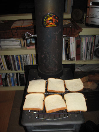White-Bread-Drying