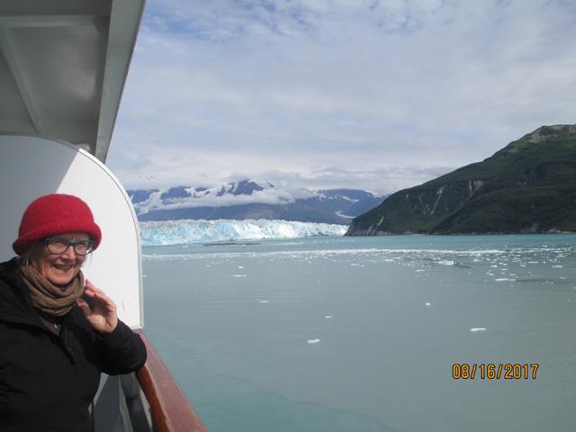 The Hubbard Glacier in Alaska