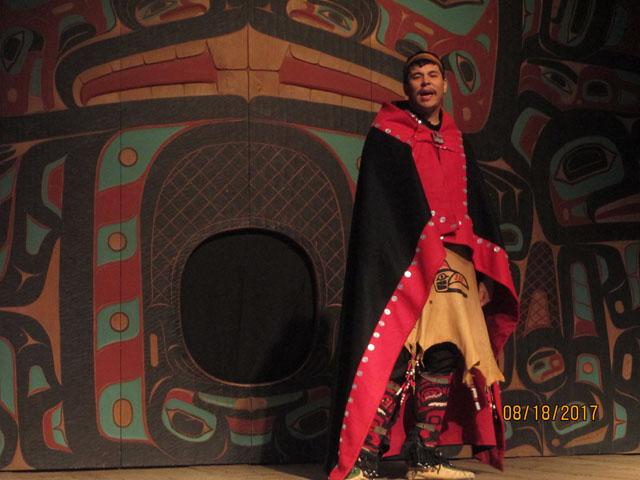 Saxman Village Dancer